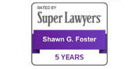 Super Lawyers - Shawn Foster