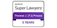 Super Lawyers - T.J. Preuss